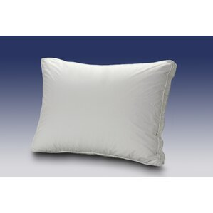 Firm Cluster Fibre Boxed Edge Down and Down Alternative Pillow by Westex