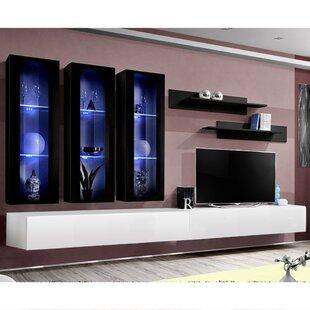 Vredenburgh Floating Entertainment Center For TVs Up To 88