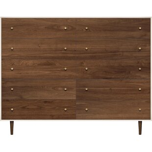 Mimo 10 Drawer Double Dresser