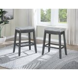 McLemorre Counter & Bar Stool (Set of 2) by Gracie Oaks