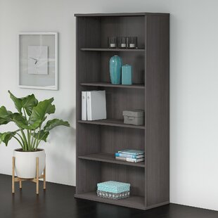 Bush Business Furniture Studio C 5 Shelf Standard Bookcase