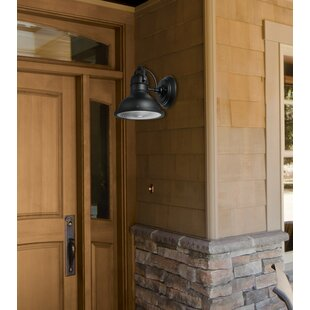 Bargain Harbor 1-Light Outdoor Wall Sconce By Globe Electric Company