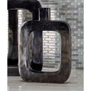 Aluminum Nickel Table Vase