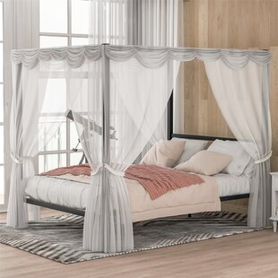 Bistra Queen Canopy Bed by Latitude Run