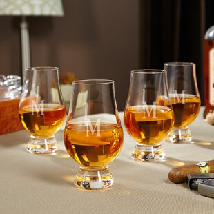 Glencairn Personalized 6 oz. Crystal Snifter Glass (Set of 4)
