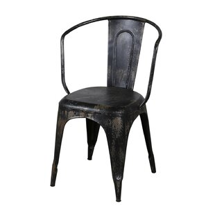 Buy clear Distressed Bistro Chair by Wildon Home® Reviews (2019) & Buyer's Guide