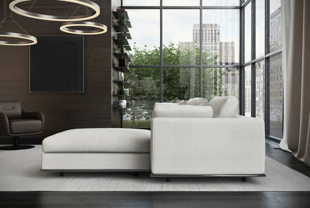 sectional sofa module corner savannah cane grey line white products