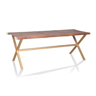 Union Rustic Northwest Hills Metal Bench