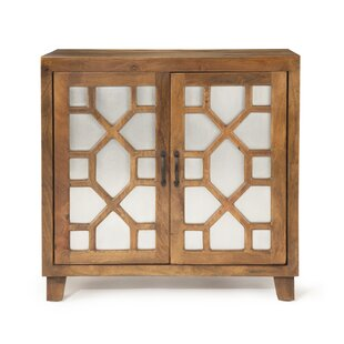 Citadel 2 Door Accent Cabinet by Bungalow Rose