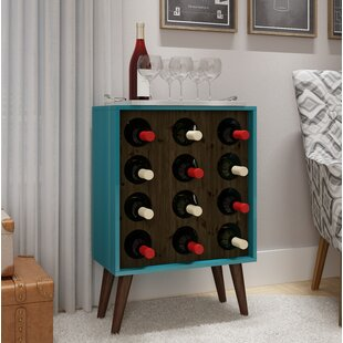 Kory 8 Bottle Floor Wine Bottle Rack by C..