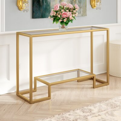 Gold Console Tables You Ll Love In 2019 Wayfair