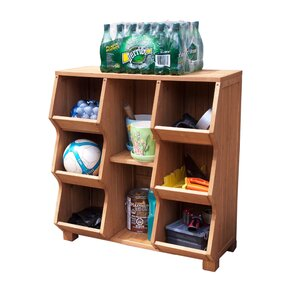 Stackable 8 Compartment Cubby