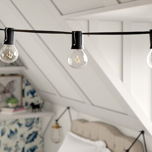 Ashantilly 25 ft. 24-Light Globe String Light by Birch Lane? Heritage