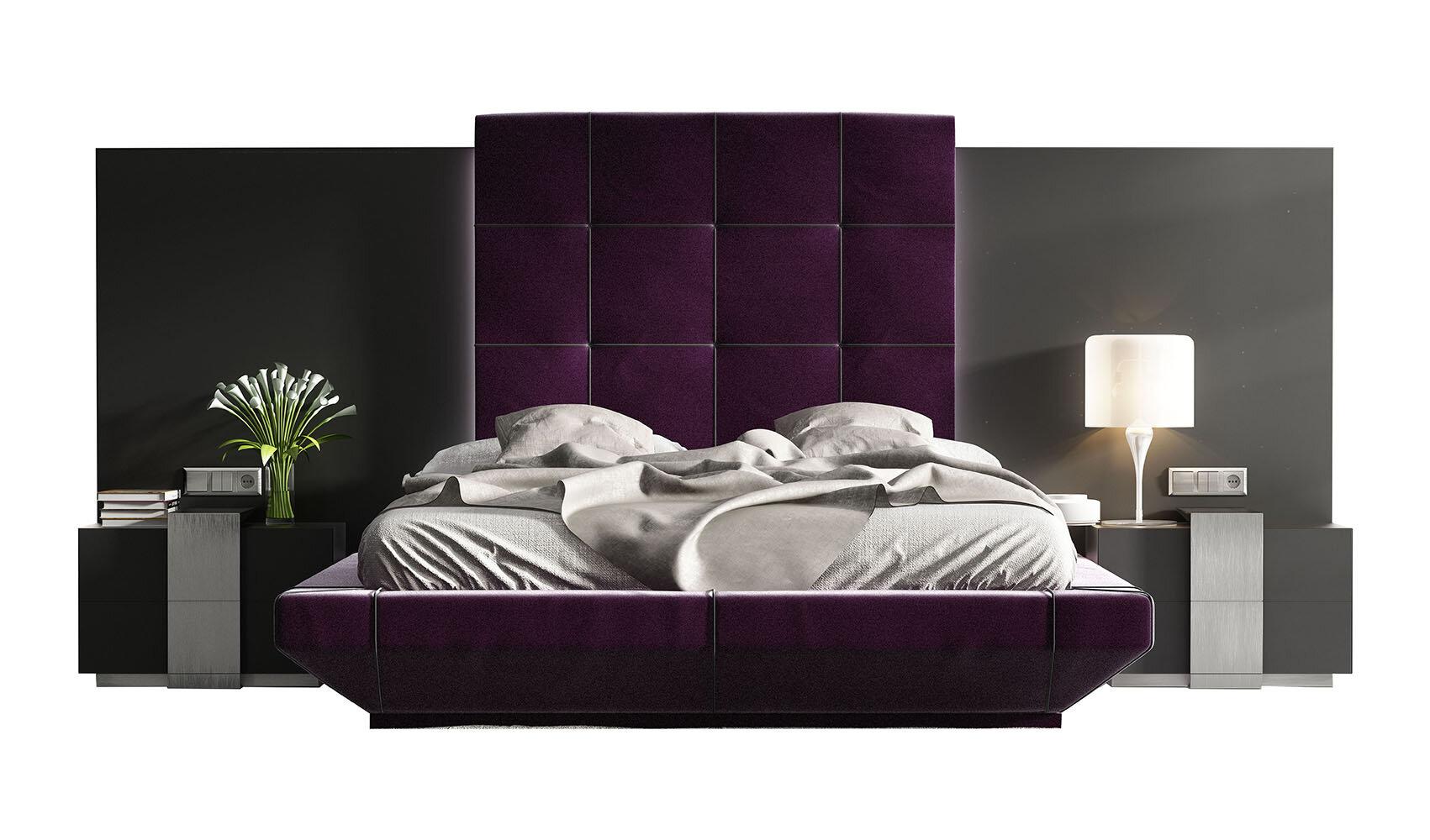 Purple Queen Bedroom Sets You Ll Love In 2021 Wayfair