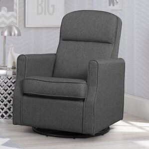 blair slim nursery swivel rocker glider - Gliding Rocking Chair