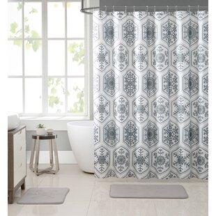 Hettinger Crystal Shower Curtain Set