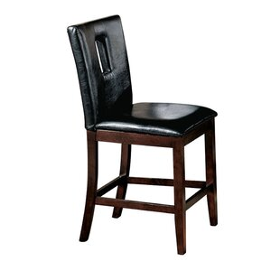 Sereno Genuine Leather Upholstered Dining Chair (Set of 2)