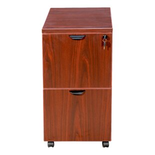 Patchen 2 Drawer Mobile Pedestal by Symple Stuff Reviews