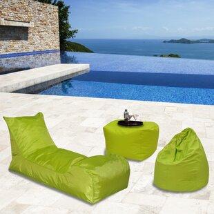 Summer Days Outdoor Waterproof Bean Bag Set By Latitude Run