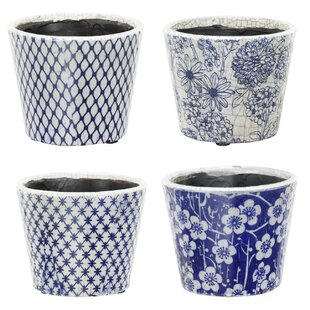 Stein Terracotta Plant Pot (Set Of 4) By Brambly Cottage