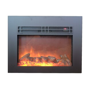 Marissa True Flame Electric Fireplace Insert by Red Barrel Studio