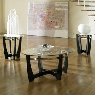Brayden Studio 3 Piece Coffee Table Set