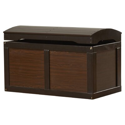 Viv + Rae Jessie Barrel Top Toy Box Finish: Espresso