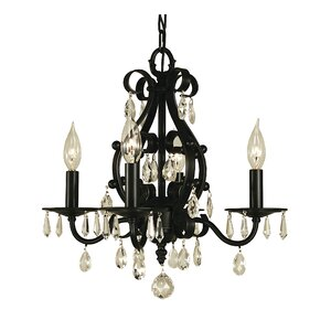 Liebestraum 4-Light Candle-Style Chandelier