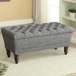 Gwyneth Upholstered Storage Bench by Andover Mills