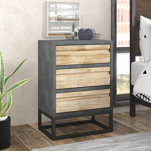 Dodson 3 Drawer Chest by Trent..