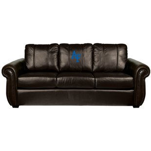 Check Prices Chesapeake Leather Sofa By Dreamseat