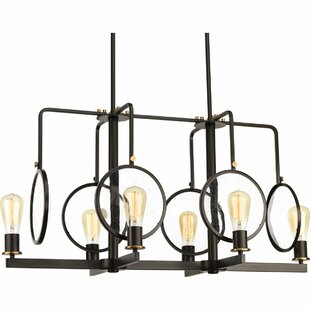 Ivy Bronx Atia 6-Light Kitchen Island Pendant