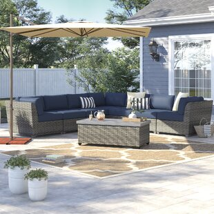 Kenwick 8 Piece Sectional Seating Group with Cushions