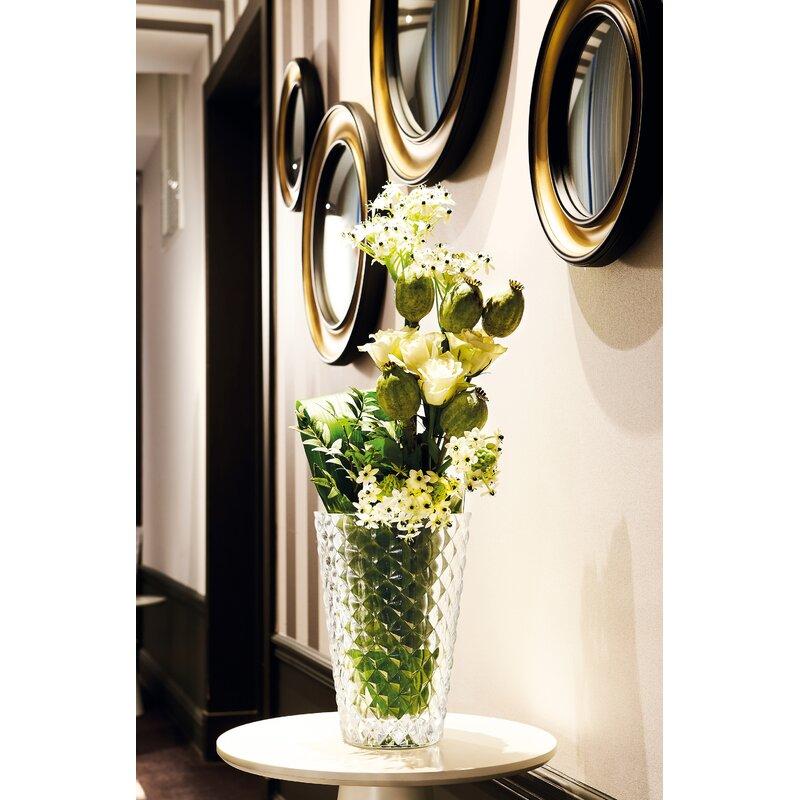 Cristal D Arques Mythe Clear 10 5 Crystal Table Vase Wayfair