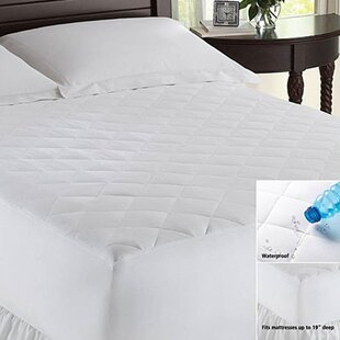 Waterproof Polyester Mattress Pad
