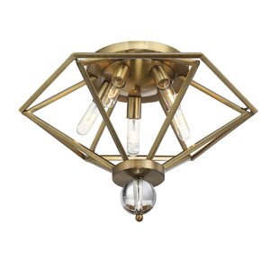 Willa Arlo Interiors Becker 5-Light Flush Mount