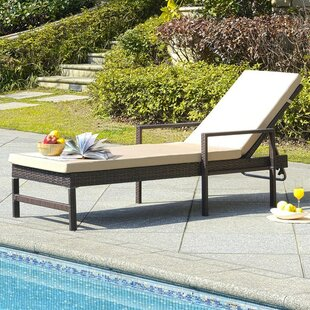 Bourneville Reclining Chaise Lounge by Charlton Home