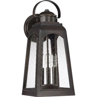 Savings Montgomery 3-Light Outdoor Wall Lantern By Breakwater Bay