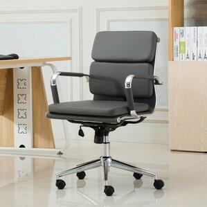 mid century modern office desk. modica contemporary midback office desk chair mid century modern