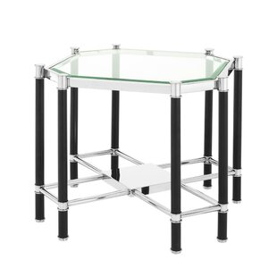 Florence Cross Frame End Table