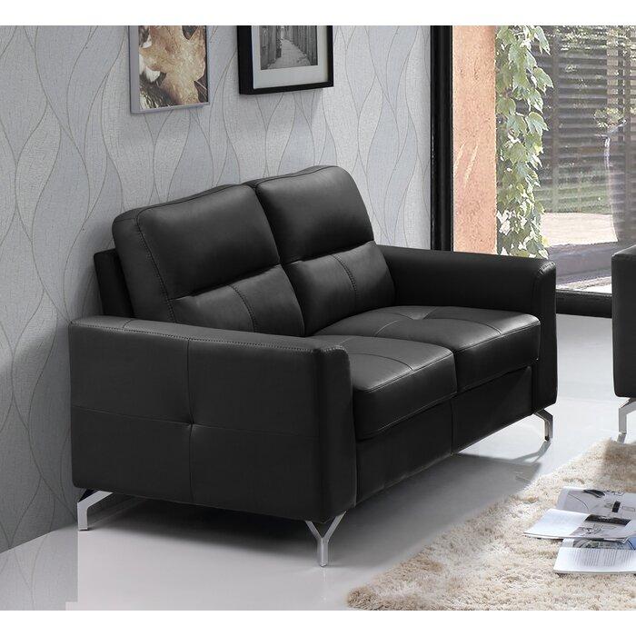 Groovy Tristan Leather Love Seat Creativecarmelina Interior Chair Design Creativecarmelinacom