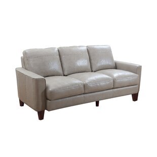 Izaiah Leather Sofa