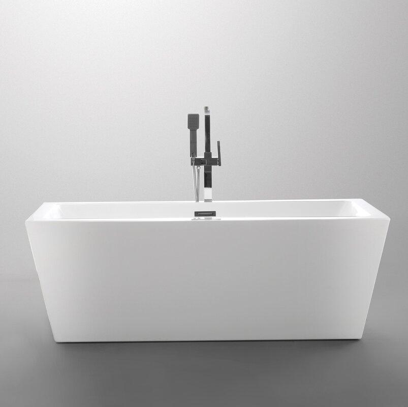 small free standing tub. 59  x 29 5 Freestanding Soaking Bathtub Tubs