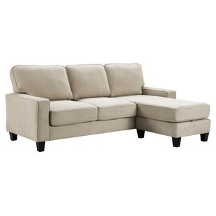 Palisades Reversible Sectional with Ottoman