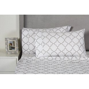 Lattice 400 Thread Count 100% Cotton Sheet Set