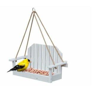 Estella Swing Bench Decorative Bird Feeder By Archie & Oscar