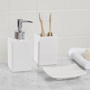 osseo 3 piece bathroom accessory set