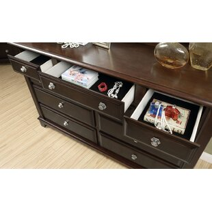 Canora Grey Luanne 10 Drawer Double Dresser