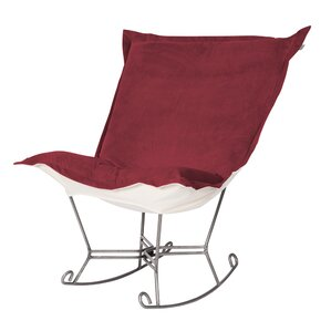 Mattingly Scroll Puff Rocking Chair by Red B..