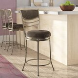 Cuthbert Bar & Counter Swivel Stool by Latitude Run